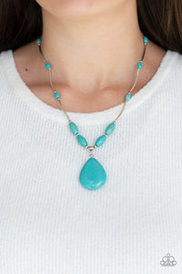Explore The Elements - Paparazzi Blue Necklace - BlingbyAshleyNicole