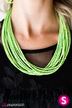 Load image into Gallery viewer, Wide Open Spaces | Paparazzi Green Necklace - BlingbyAshleyNicole