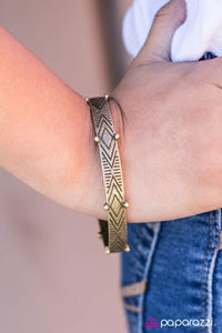 Jungle Quest - Paparazzi Brass Bracelet - BlingbyAshleyNicole