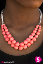 Load image into Gallery viewer, Parkview Picnic - Paparazzi Orange Necklace - BlingbyAshleyNicole