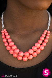 Parkview Picnic - Paparazzi Orange Necklace - BlingbyAshleyNicole