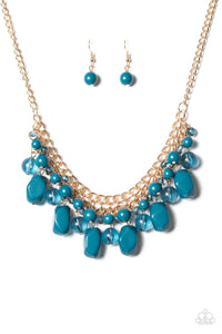 Newport Native - Blue Necklace - BlingbyAshleyNicole
