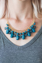Load image into Gallery viewer, Newport Native - Blue Necklace - BlingbyAshleyNicole