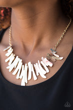Load image into Gallery viewer, Hold Some, BOLD Some - Paparazzi Gold Necklace - BlingbyAshleyNicole
