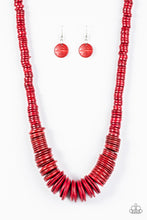 Load image into Gallery viewer, SHORE Thing | Paparazzi Red Necklace - BlingbyAshleyNicole