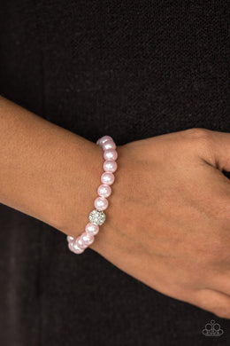 I'm Here For the Bride | Paparazzi Pink Bracelet - BlingbyAshleyNicole