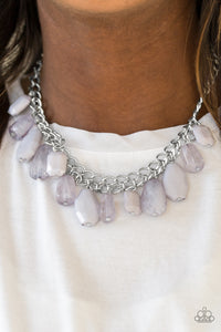 Glacier Goddess - Silver Necklace - BlingbyAshleyNicole