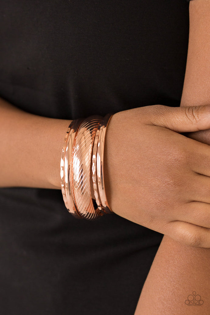 Boss of Boho - Copper Bangles - BlingbyAshleyNicole