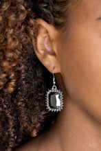 Load image into Gallery viewer, Downtown Dapper - Paparazzi Silver Earrings - BlingbyAshleyNicole