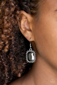 Downtown Dapper - Paparazzi Silver Earrings - BlingbyAshleyNicole