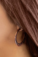 Load image into Gallery viewer, Rumba Rendezvous - Paparazzi Copper Earrings - BlingbyAshleyNicole
