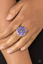 Load image into Gallery viewer, Color Me Calla Lily - Paparazzi Purple Rings - BlingbyAshleyNicole