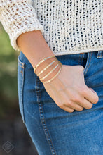 Load image into Gallery viewer, Get Used To Grit - Gold Bracelet - BlingbyAshleyNicole