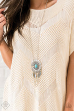 Load image into Gallery viewer, Desert Culture  | Paparazzi Blue Necklace - BlingbyAshleyNicole