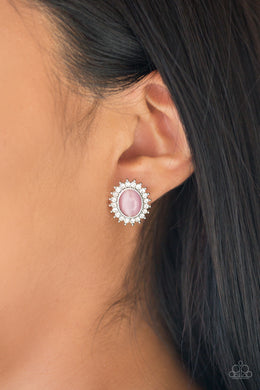 Hey There, Gorgeous  - Pink Post Earring - BlingbyAshleyNicole