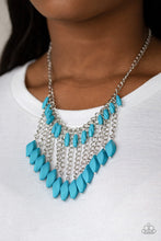Load image into Gallery viewer, Venturous Vibes - Paparazzi Blue Necklace - BlingbyAshleyNicole