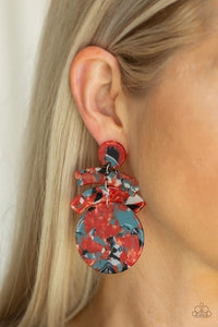 In the HAUTE Seat - Orange Earring - BlingbyAshleyNicole