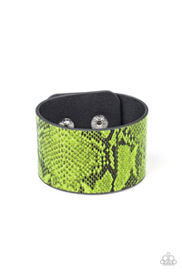 Its a Jungle Out There - Paparazzi Green Bracelet - BlingbyAshleyNicole