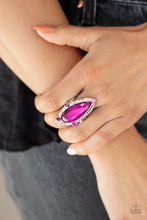 Load image into Gallery viewer, Sparkle Smitten - Paparazzi Pink Ring - BlingbyAshleyNicole