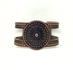 Texture Trade - Copper Bracelet - BlingbyAshleyNicole