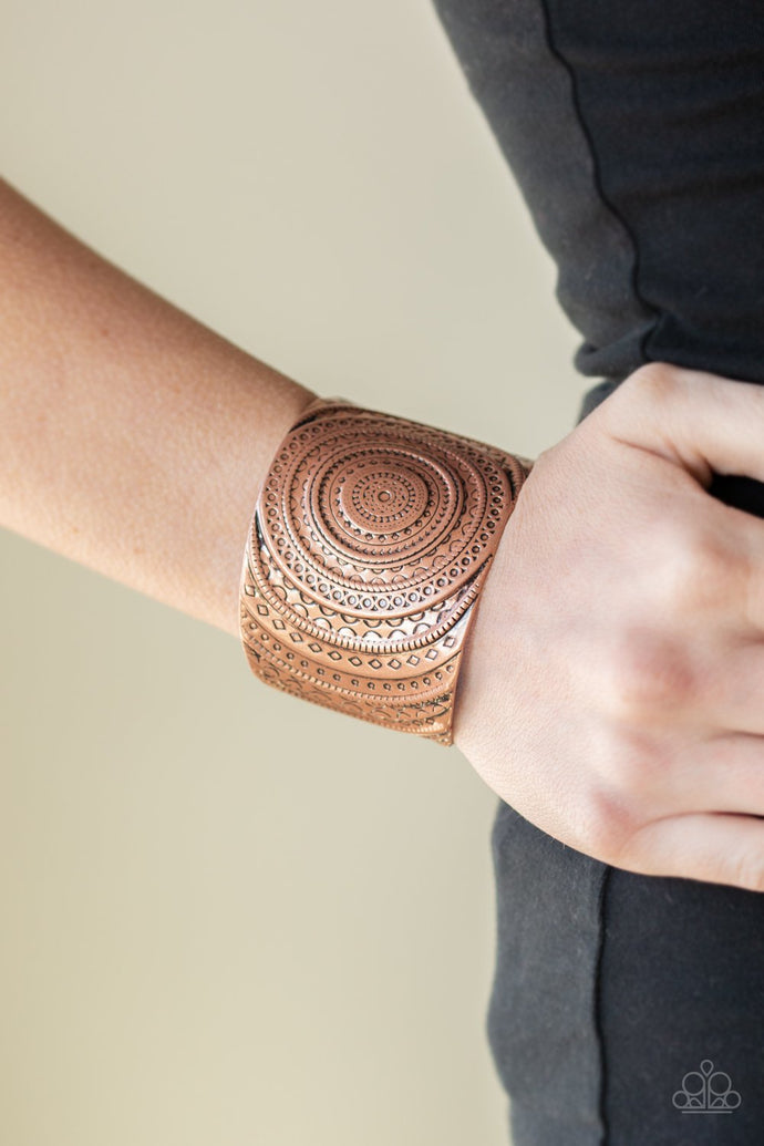 Bare Your Sol - Copper Bracelet - BlingbyAshleyNicole
