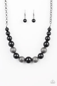 Color Me CEO - Paparazzi Black Necklace - BlingbyAshleyNicole