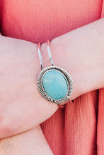 Load image into Gallery viewer, FRONTIER and Center - Paparazzi Blue Bracelet - BlingbyAshleyNicole