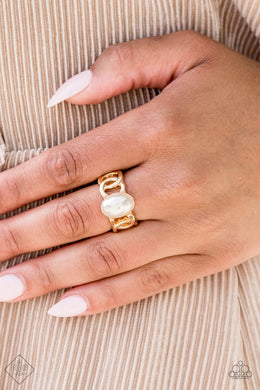 Glamified Glam - Paparazzi Gold Ring - BlingbyAshleyNicole