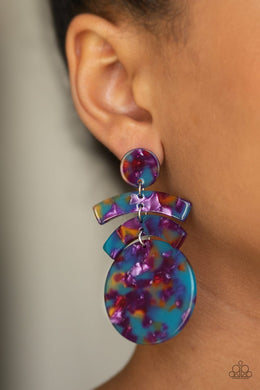 In the HAUTE Seat - Paparazzi Multi Earrings - BlingbyAshleyNicole
