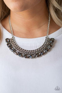 Killer Knockout - Silver Necklace - BlingbyAshleyNicole