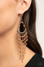 Load image into Gallery viewer, Metro Confetti | Paparazzi Copper Earring - BlingbyAshleyNicole