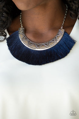 Might and MANE - Blue Necklace - BlingbyAshleyNicole
