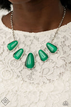 Load image into Gallery viewer, Newport Princess | Paparazzi Green Necklace - BlingbyAshleyNicole