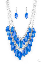 Load image into Gallery viewer, Palm Beach Beauty | Paparazzi Blue Necklace - BlingbyAshleyNicole