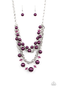 Rockin Rockette - Paparazzi Purple Necklace - BlingbyAshleyNicole