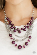 Load image into Gallery viewer, Rockin Rockette - Paparazzi Purple Necklace - BlingbyAshleyNicole