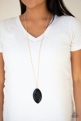 Sante Fe Simplicity - Paparazzi Black Necklace - BlingbyAshleyNicole