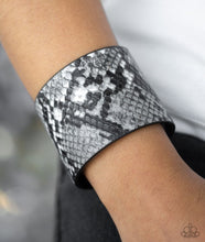 Load image into Gallery viewer, What's HISS Is Mine Urban Bracelet - Paparazzi Silver Bracelet - BlingbyAshleyNicole