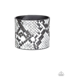 What's HISS Is Mine Urban Bracelet - Paparazzi Silver Bracelet - BlingbyAshleyNicole