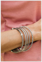 Load image into Gallery viewer, When The Going Get Rough - Silver Bracelet - BlingbyAshleyNicole