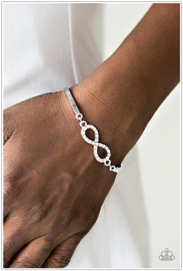 Infinite Treasure - White Bracelet - BlingbyAshleyNicole