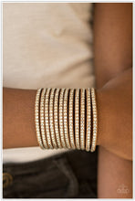 Load image into Gallery viewer, The Boss Is Back - Paparazzi Brown Bracelet - BlingbyAshleyNicole