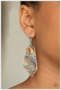 Walking On WATERCOLORS - Multi Earring - BlingbyAshleyNicole