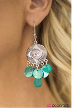 Load image into Gallery viewer, So Far, So Good - Blue Earring - BlingbyAshleyNicole
