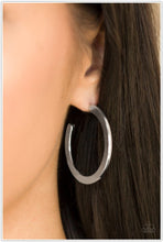 Load image into Gallery viewer, Be All BRIGHT - Silver Hoop Earring - BlingbyAshleyNicole
