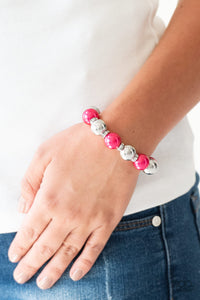 So Not Sorry | Paparazzi Pink Bracelet - BlingbyAshleyNicole