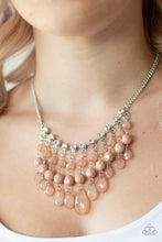 Load image into Gallery viewer, Social Network - Paparazzi Brown Necklace - BlingbyAshleyNicole