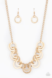 Treasure Tease | Paparazzi Gold Necklace - BlingbyAshleyNicole