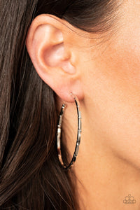 Unregulated - Paparazzi Silver Hoop Earrings - BlingbyAshleyNicole