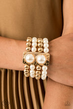 Load image into Gallery viewer, WEALTH-Conscious - Paparazzi Gold Bracelet - BlingbyAshleyNicole